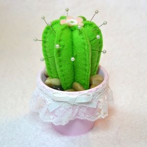 Accessories - Handmade Cactus Pincushion